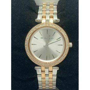 Michael Kors MK3651 Women's Watch Silver Rose Gold